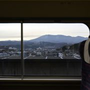 Photo trip しろいし いろいろ ×【新幹線より不忘山望む】