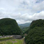 Photo trip しろいし いろいろ  ×【七ヶ宿ダムより材木岩方面を望む】 2019.7.15